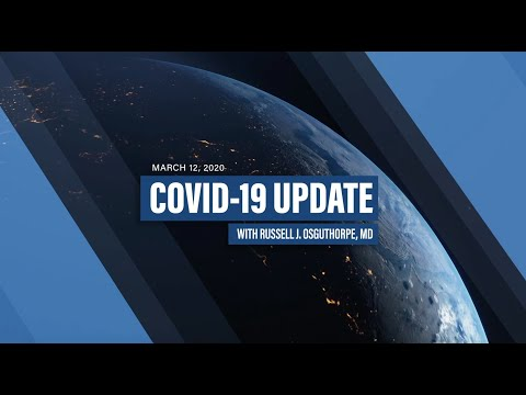 DAILY COVID-19 UPDATE | Episode 1| 3/12/2020
